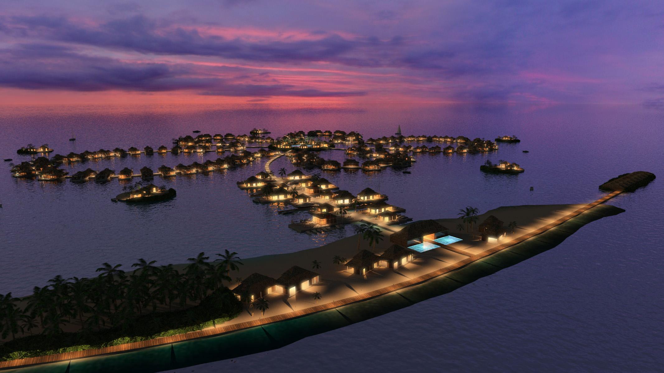 VILLAS PRIVADAS EN VENTA MALDIVAS - La flor OCEAN - CHRISTIE S INMOBILIARIA